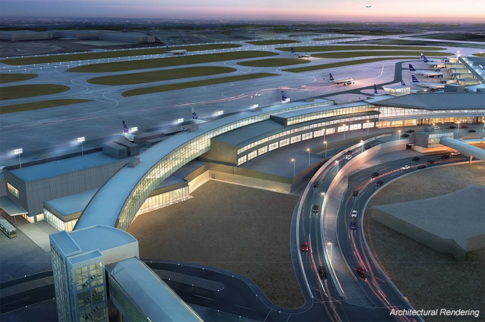 Jetblue terminal 5i expansion john f kennedy for Hotels near jf kennedy airport