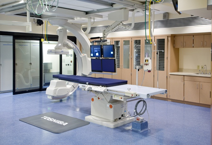 Broward Health Medical Center, Interventional Radiology Suite ...
