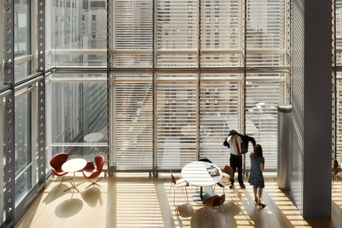 The new york times headquarters and thetimescenter for New york times interior design