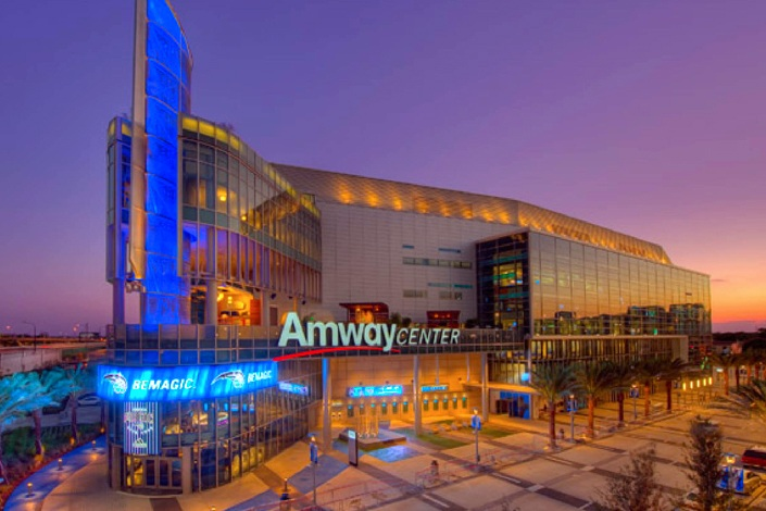 Amway center turner construction company for Mercedes benz lounge amway center