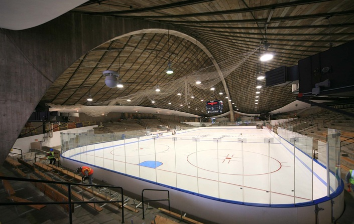 Yale University Ingall S Rink Renovation Turner