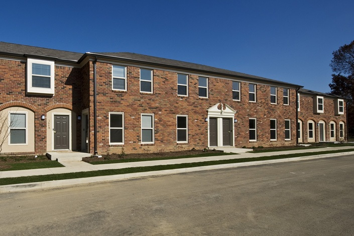 Georgetown apartments revitalization turner construction for Housing construction companies