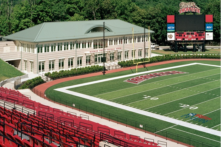 Lafayette College Fisher Field And Bourger Field House