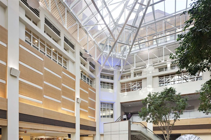 Yale New Haven Hospital Atrium Renovations Turner Construction