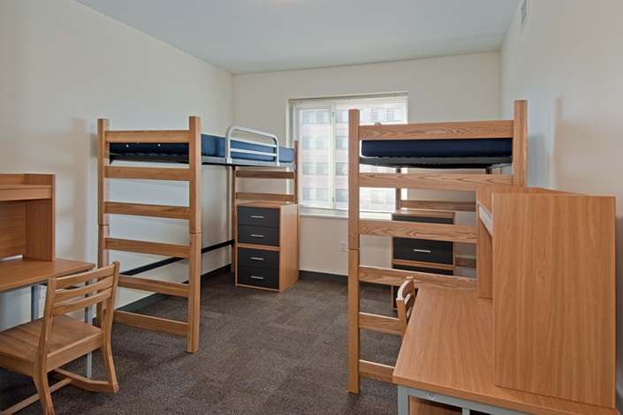 Dorm Rooms On The Middle