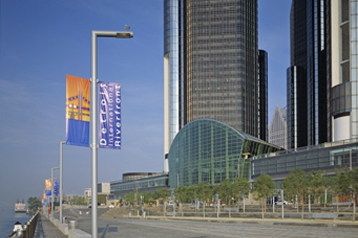 general motors company global headquarters at the renaissance center. Cars Review. Best American Auto & Cars Review