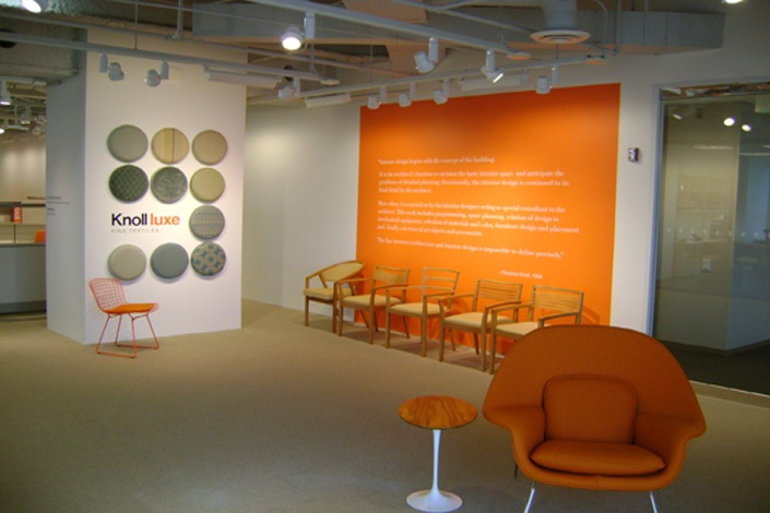 Knoll Furniture Showroom Turner Construction Company