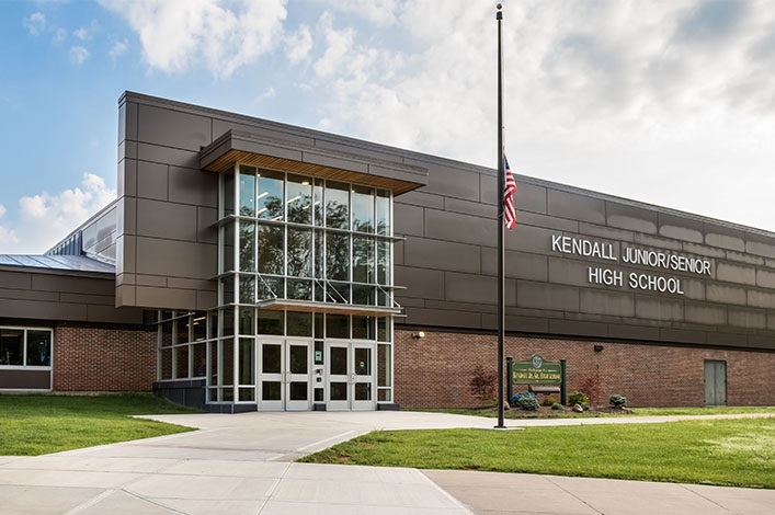 Kendall central school district turner construction company