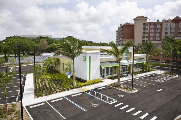 Td Bank Cypress Creek Branch Turner Construction Company
