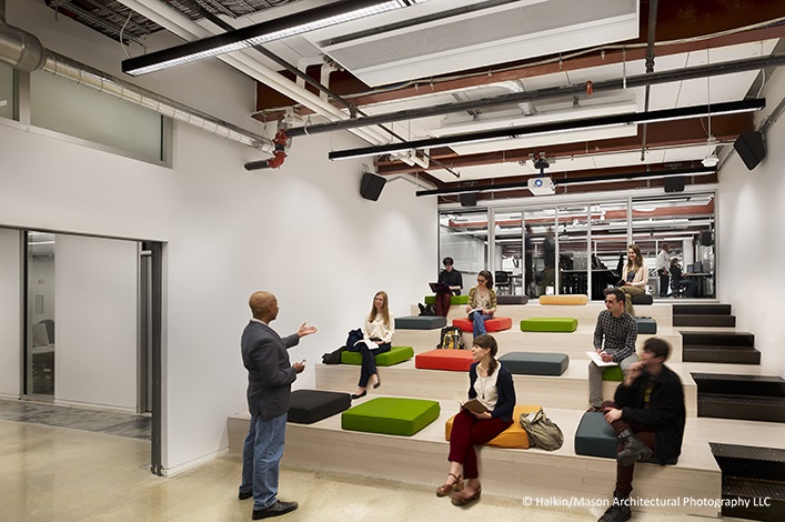 Classroom Design Companies : Drexel university urbn center turner construction company