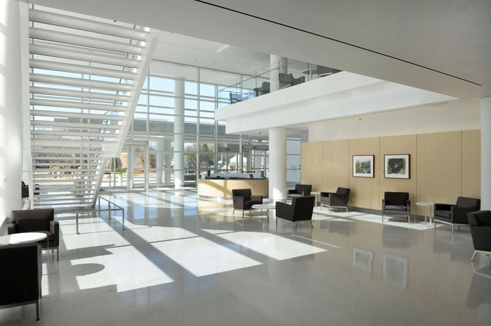 Cleveland clinic marymount hospital surgery center turner construction company for Commercial interior design cleveland