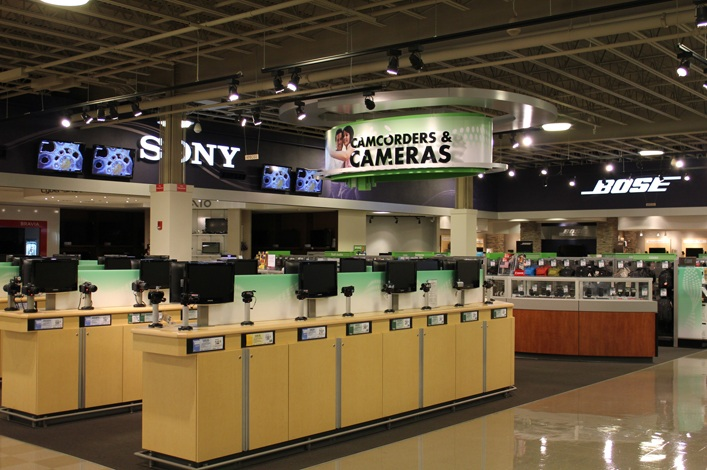 Nebraska Furniture Mart Electronics Department Remodel Turner