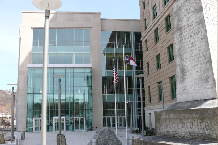 Buncombe County Courthouse, New Courts Building | Turner