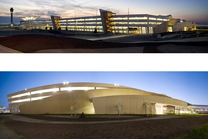 Indianapolis Airport Landside Construction and Parking Garage ...